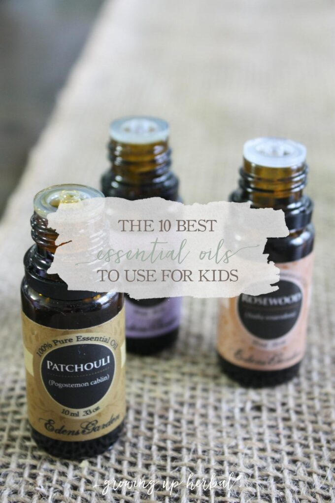 The 10 Best Essential Oils To Use For Kids | Growing Up Herbal | Looking for a list of essential oils to have on hand for your kids? Here's a list of 10 to get you started!