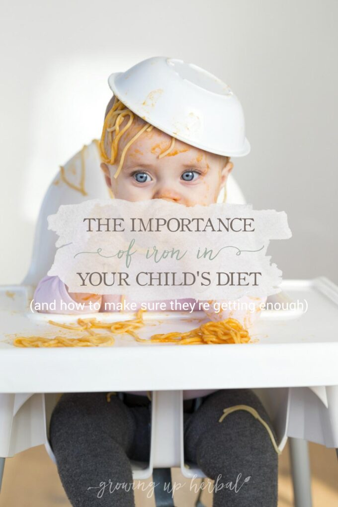 Understanding The Importance Of Iron In Your Child's Diet & How To Make Sure They're Getting Enough | Growing Up Herbal | Understand why iron is an important part of your child's diet and how to make sure they're getting enough.
