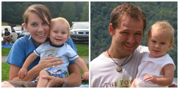 Dean & I with Judah - Summer 2009
