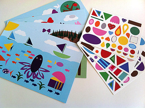 KidKit: Make-A-Scene Sticker Sheets