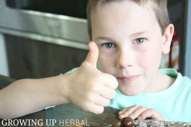 Homemade Herbal Multivitamins For Kids   Growing Up Herbal   If you're not a fan of daily multivitamin supplements, why not try out some herbal multivitamins instead. They taste great, and your kid will love them!