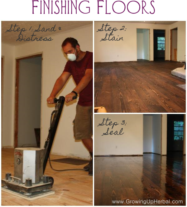 Finishing Floors