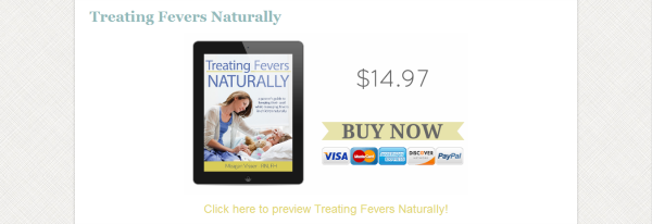 Treating Fevers Naturally - GrowingUpHerbal.com