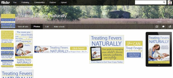 Treating Fevers Naturally Promo Graphics