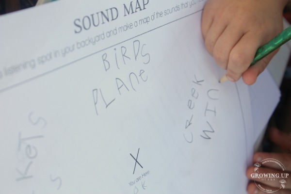 Filling out a sound map