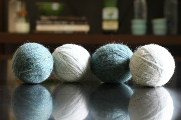 DIY Wool Dryer Balls - DIY Non-Toxic Cleaning Recipes