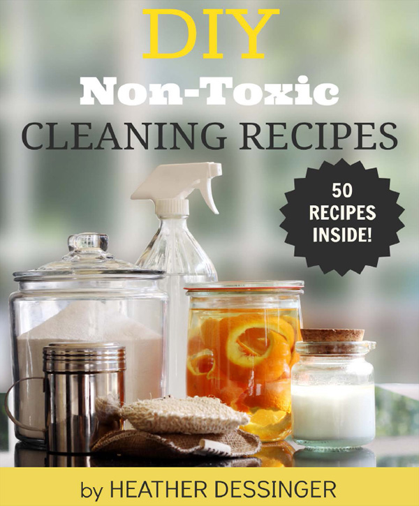 DIY Non-Toxic Cleaning Recipes | GrowingUpHerbal.com - decrease your child's toxin exposure and clean your home with these effective, smells awesome natural cleaning recipes!