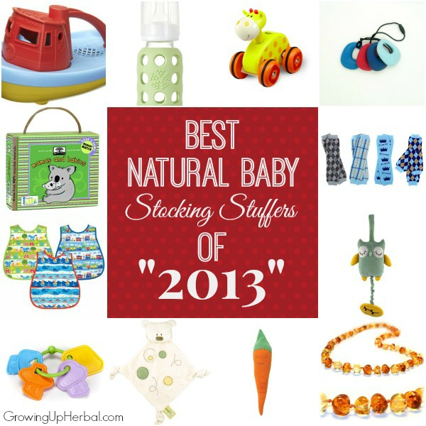 Best Natural Baby Stocking Stuffers of 2013