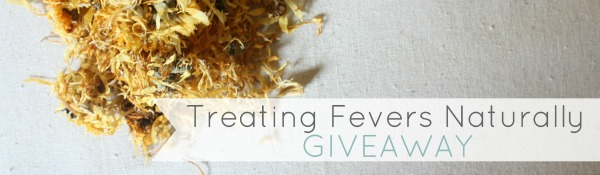 Treating Fevers Naturally Giveaway - GrowingUpHerbal.com