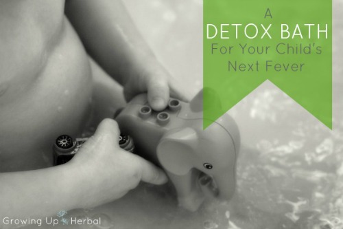 Use This Easy Detox Bath With Your Child's Next Fever