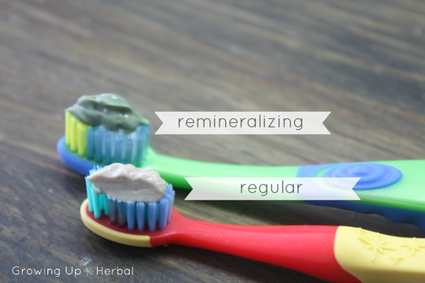 diy herbal remineralizing toothpaste, homemade remineralizing toothpaste, spirulina toothpaste