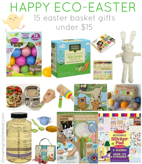 15 easter basket gifts under 15 happy eco easter 15 easter basket gifts under 15 growingupherbal negle