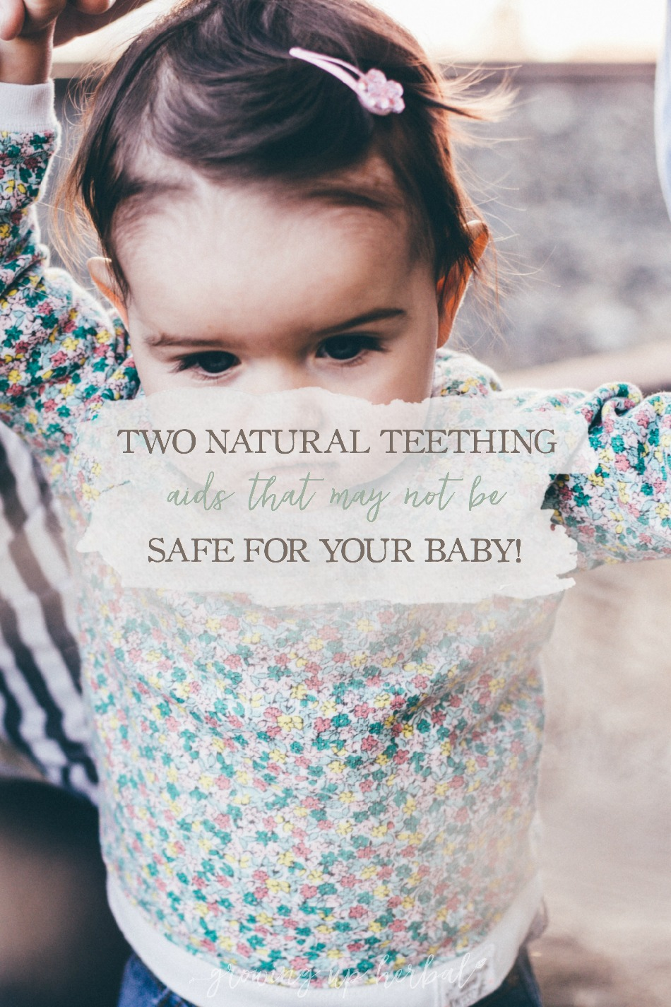 """Two Natural Teething Aids That May Not Be Safe For Your Baby 