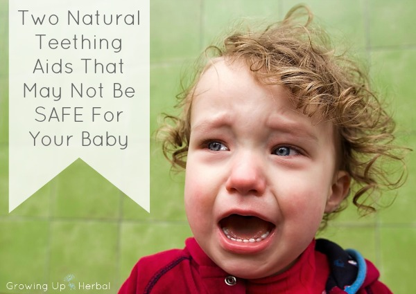 """Two Common Natural Teething Aids That May Not Be Safe For Your Baby 