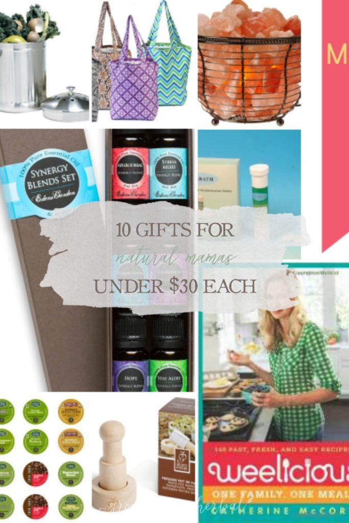 Happy Mother's Day: 10 Gifts For Natural Mamas Under  Each | Growing Up Herbal | Mother's Day gifts for the Natural Mama!