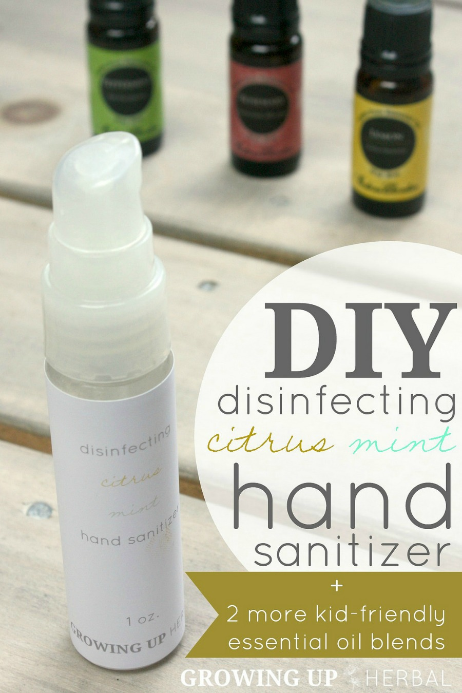 How To Make Natural Hand Sanitizer With Essential Oils