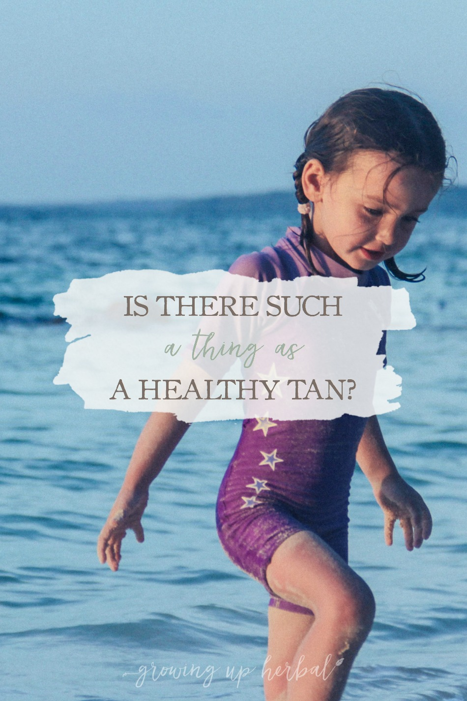 """Is There Such A Thing As A """"Healthy Tan""""? 