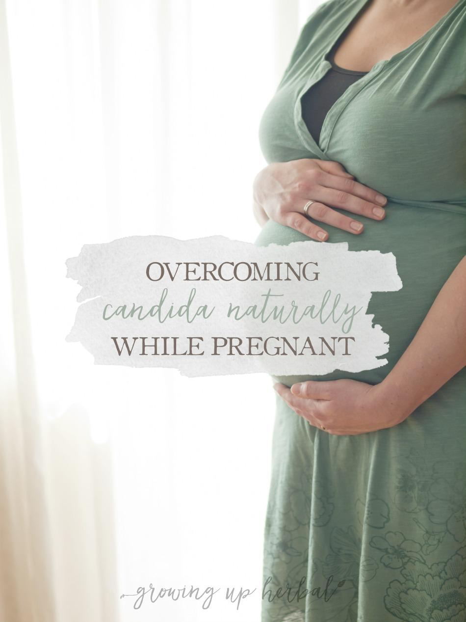 Overcoming Candida Naturally While Pregnant | Growing Up Herbal | Learn how I overcame candida overgrowth while pregnant using natural supplements safe for pregnancy.