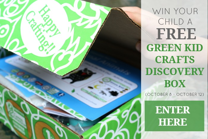 Green Kid Crafts Discovery Box Giveaway | GrowingUpHerbal.com