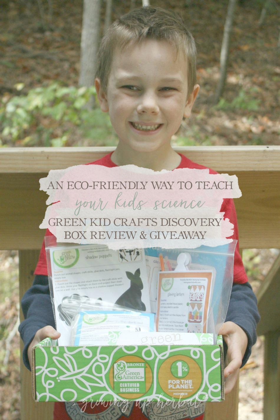An Eco-Friendly Way To Teach Your Kids Science - Green Kid Crafts Discovery Box Review | Growing Up Herbal | We love Green Kid Craft Discovery Boxes! Come check out what we made and how you can get your own box!