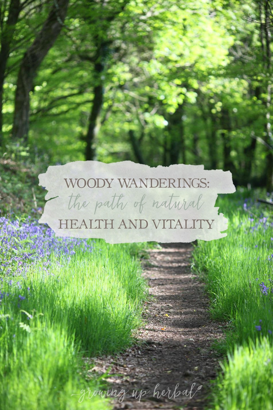 Woody Wanderings: The Path of Natural Living And Vitality | Growing Up Herbal | Curious about what's a natural living journey is like? Come read a fun adventure story of your family getting started on the path of Natural Health and Vitality!
