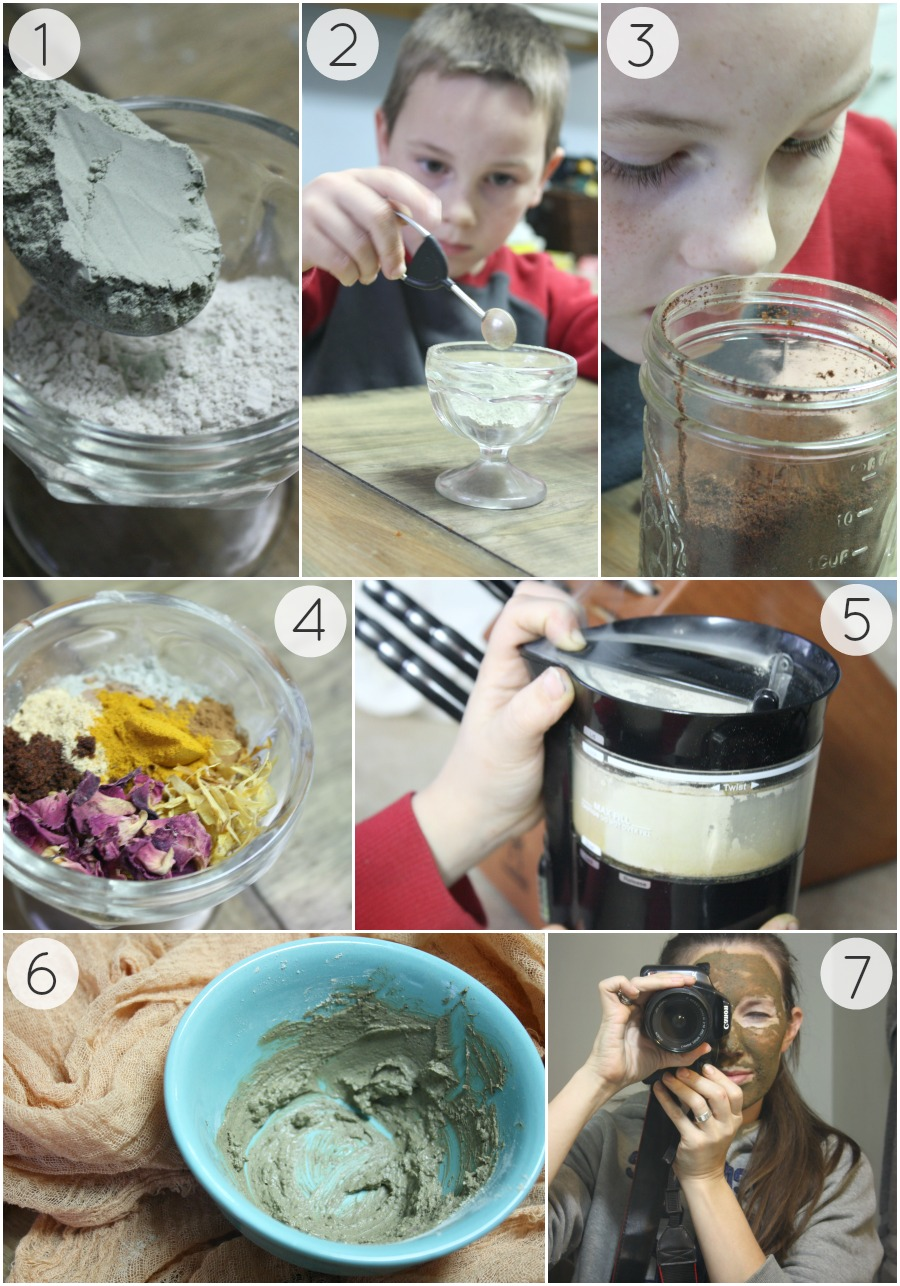 A Homemade Face Mask Your Girlfriends Will Beg Your For More Of | Growing Up Herbal | A DIY holiday face mask your girlfriends will LOVE! Make them some today!