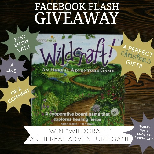 A Fun Herbal Board Game... Just In Time For Christmas! | Growing Up Herbal | Enter to win a free herbal board game, Wildcraft, just in time for Christmas!