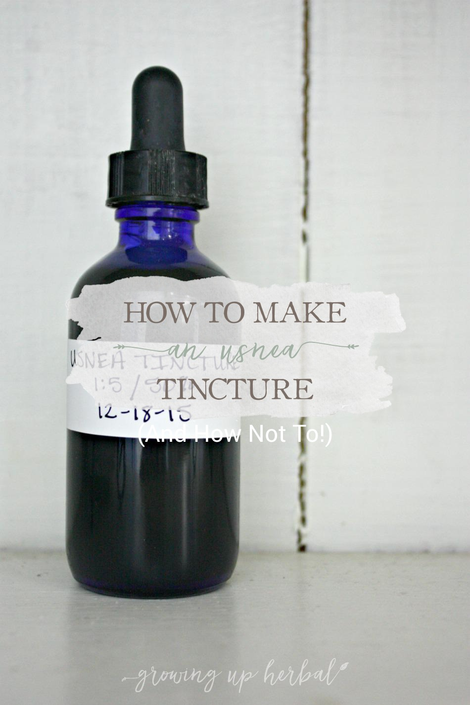 How To Make An Usnea Tincture (And How Not To) | Growing Up Herbal | Learn how to make an usnea tincture the right way and the wrong way.