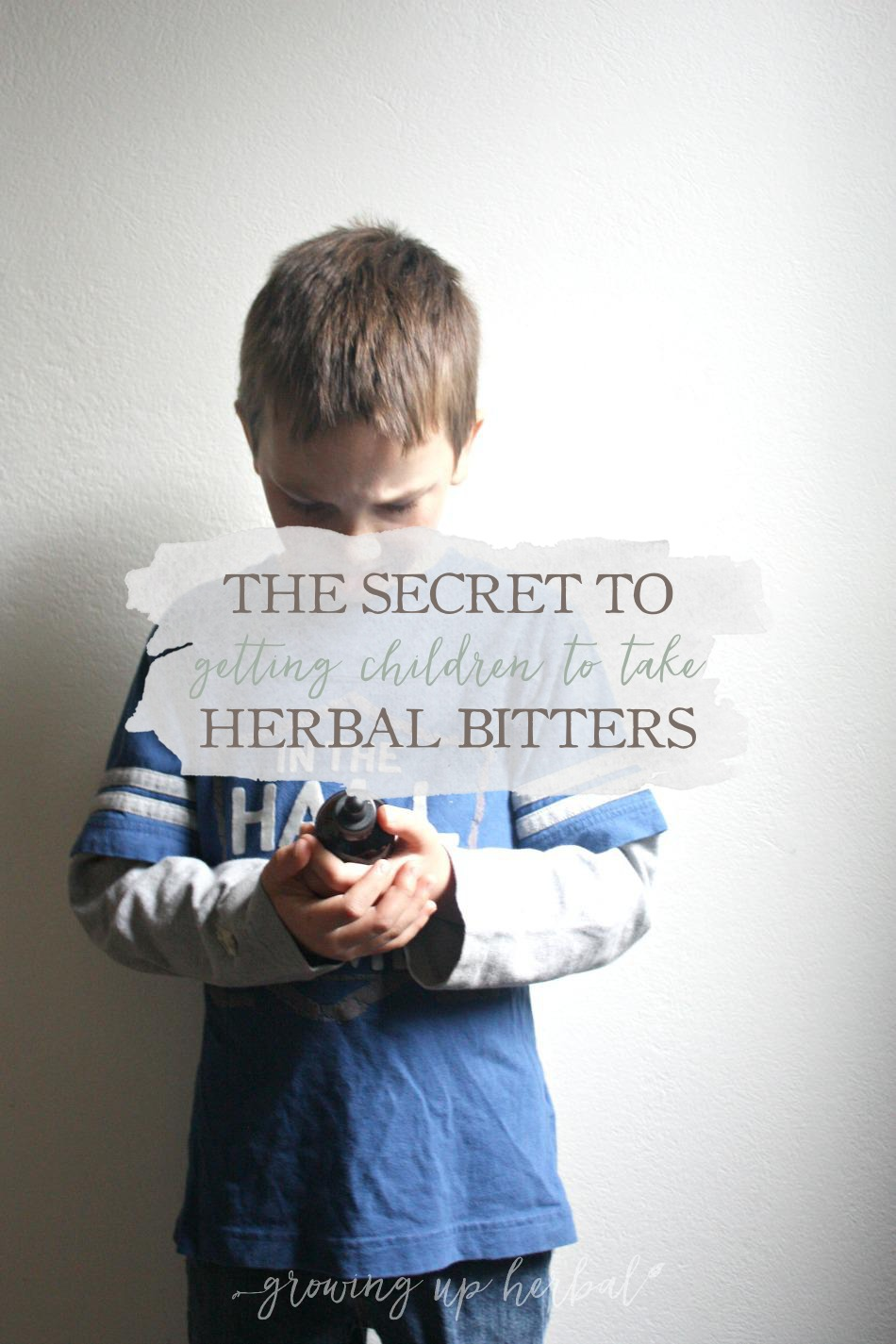 The Secret To Getting Children To Take Herbal Bitters | Growing Up Herbal | Bitters are great for digestive health, but it can be a struggle to get your kids to take them. This secret can help!