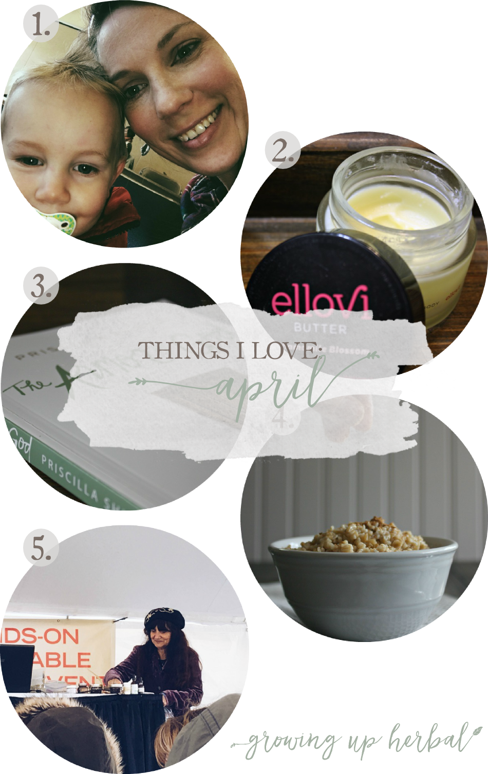 Things I Love: April | Growing Up Herbal | Here are some of my favorite things from this past month! Enjoy!
