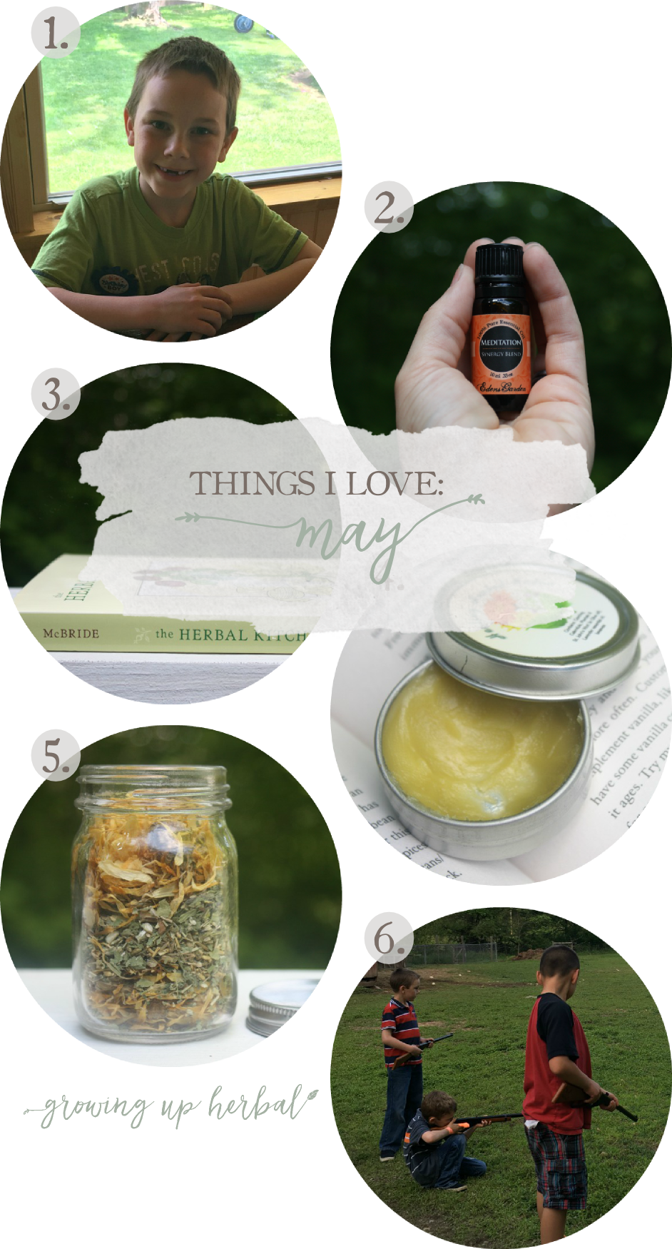Things I Love: May 2016 | Growing Up Herbal | Here are some of my favorite things from this past month!