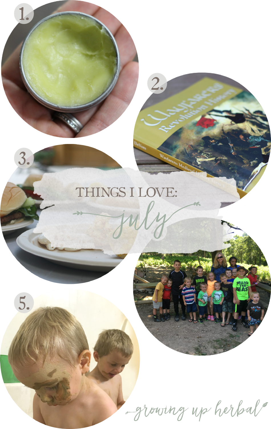Things I Love: July 2016 | Growing Up Herbal | Here are 5 things I've been loving this July! Check 'em out! You may love them too!