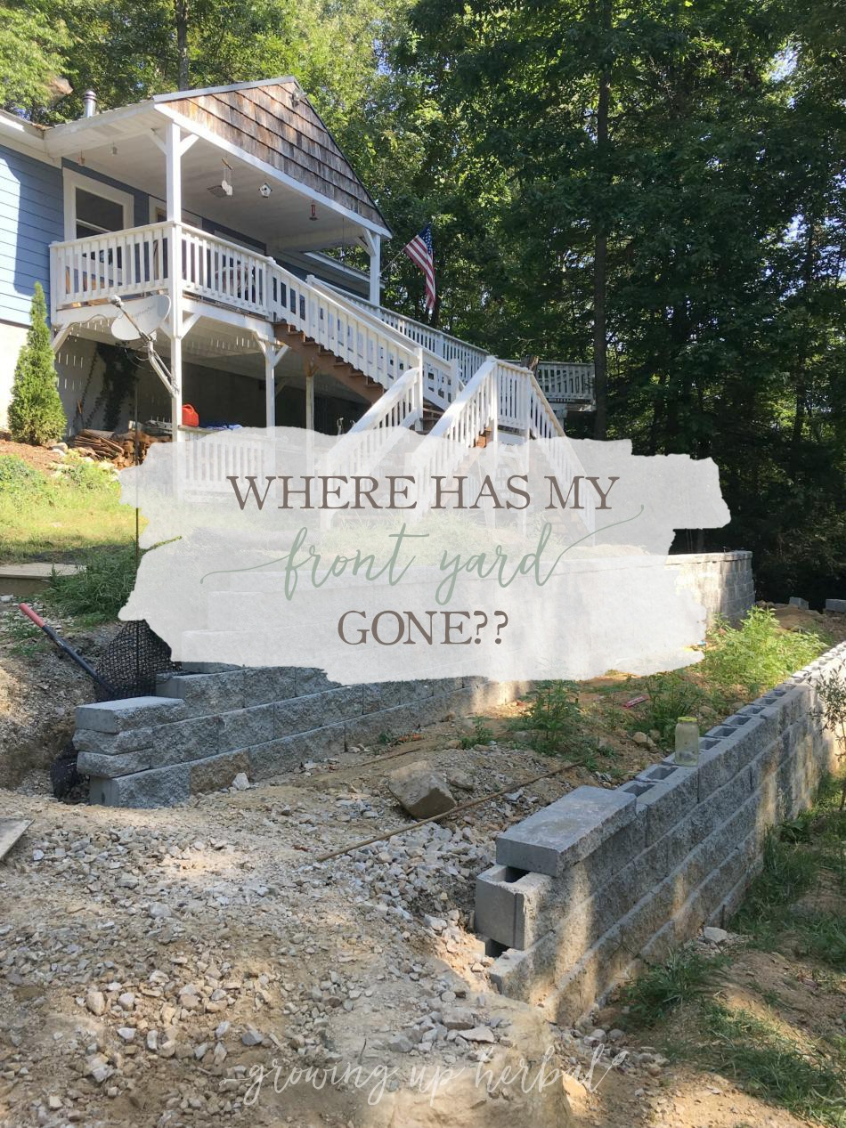 Where Has My Front Yard Gone? | Growing Up Herbal | Get an update on our mountain landscaping project, how our plants are holding up, and what we'll be working on next.