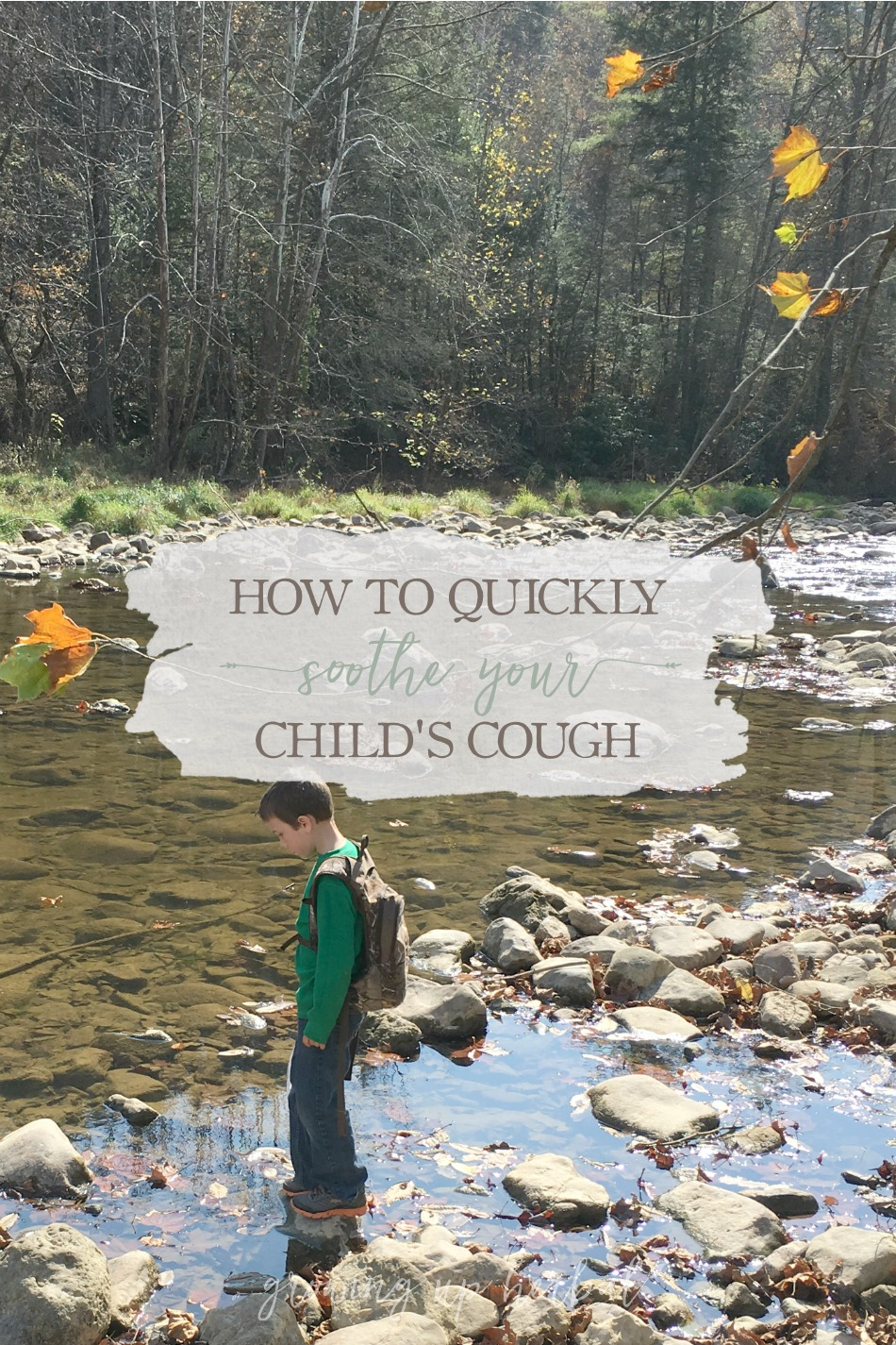 How To Quickly Soothe Your Child's Cough | Growing Up Herbal | Comfort your child and help soothe their cough using this safe, effective, natural cough remedy!