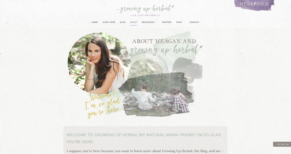 Why I'm Taking A Holiday Blogging Break (+ A Sneak Peek At My New Website) | Growing Up Herbal | Come see Growing Up Herbal's different website looks over the last four years (and get a sneak peek at the upcoming design too)!