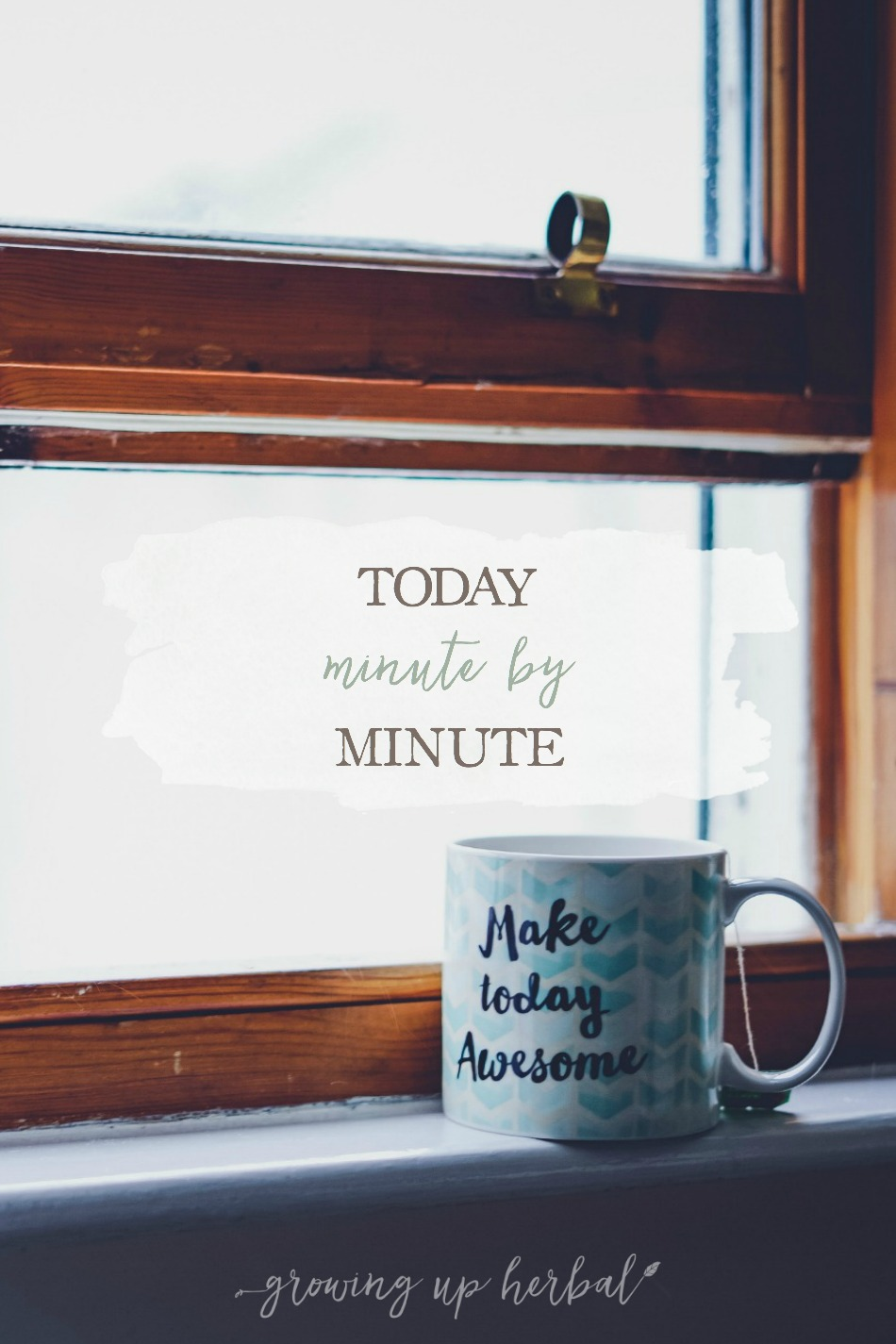 Today: Minute by Minute | Growing Up Herbal | Come take a peek into my Saturday in this minute-by-minute post. Hope you enjoy it!
