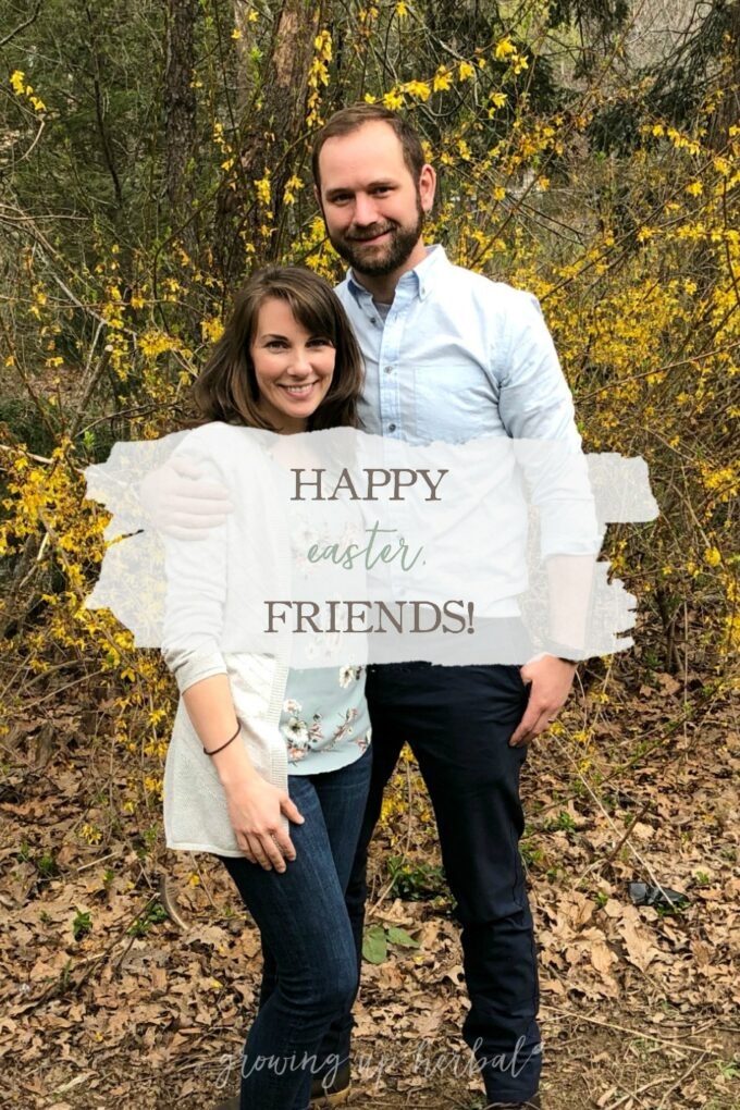 Happy Easter, Friends! | Growing Up Herbal | While I don't have a family photo (hangs head in shame), I do have a quick Easter update for you!