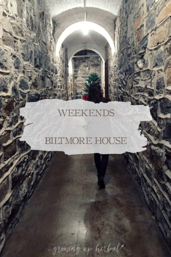 Weekends At Biltmore House   Growing Up Herbal   We're forgoing monthly date nights this year, and instead, taking quarterly weekend trips to Biltmore House in Asheville, NC—one of my favorite places!