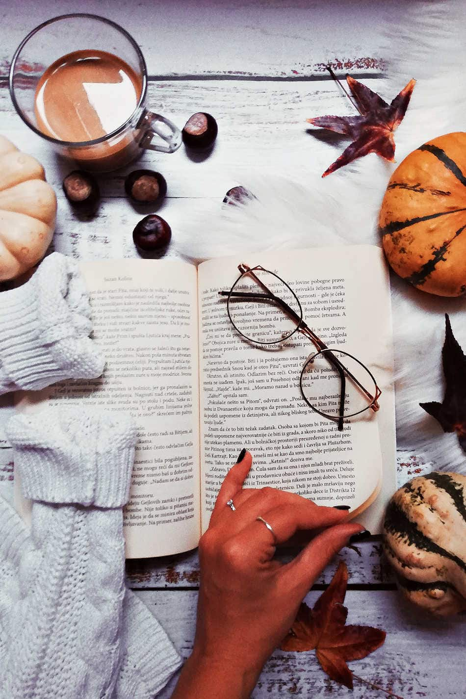 20 Books for Your Autumn Reading List | Growing Up Herbal | Fall is the perfect time to cozy up with a hot cup of tea and a good book. Here are 20 fall-inspired books for your autumn reading list.